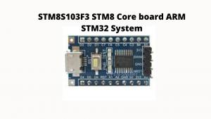 stm8s103f3 stm32f103c8f6 software developer